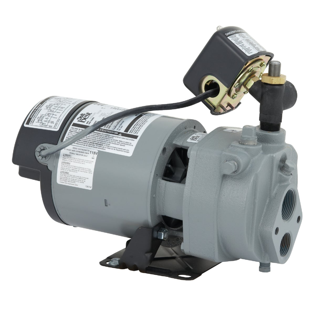 1/2HP CONV JET WELL PUMP - JHU05 by Star Water Systems