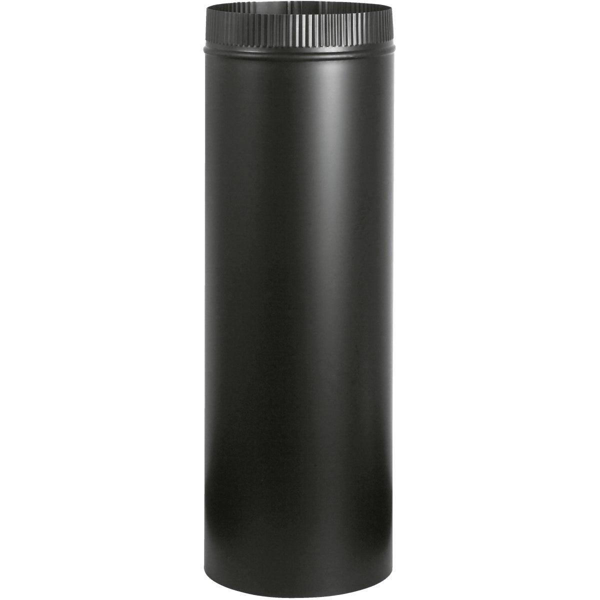 7X24 BLACK STOVE PIPE