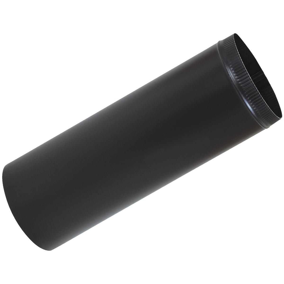 8X24 BLACK STOVE PIPE