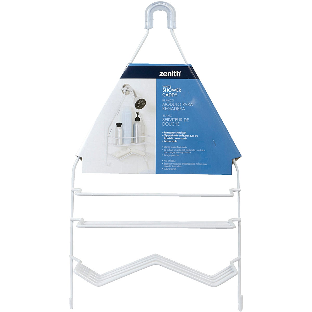 LARGE SHOWER CADDY - 7518W by Zenith Prod Corp