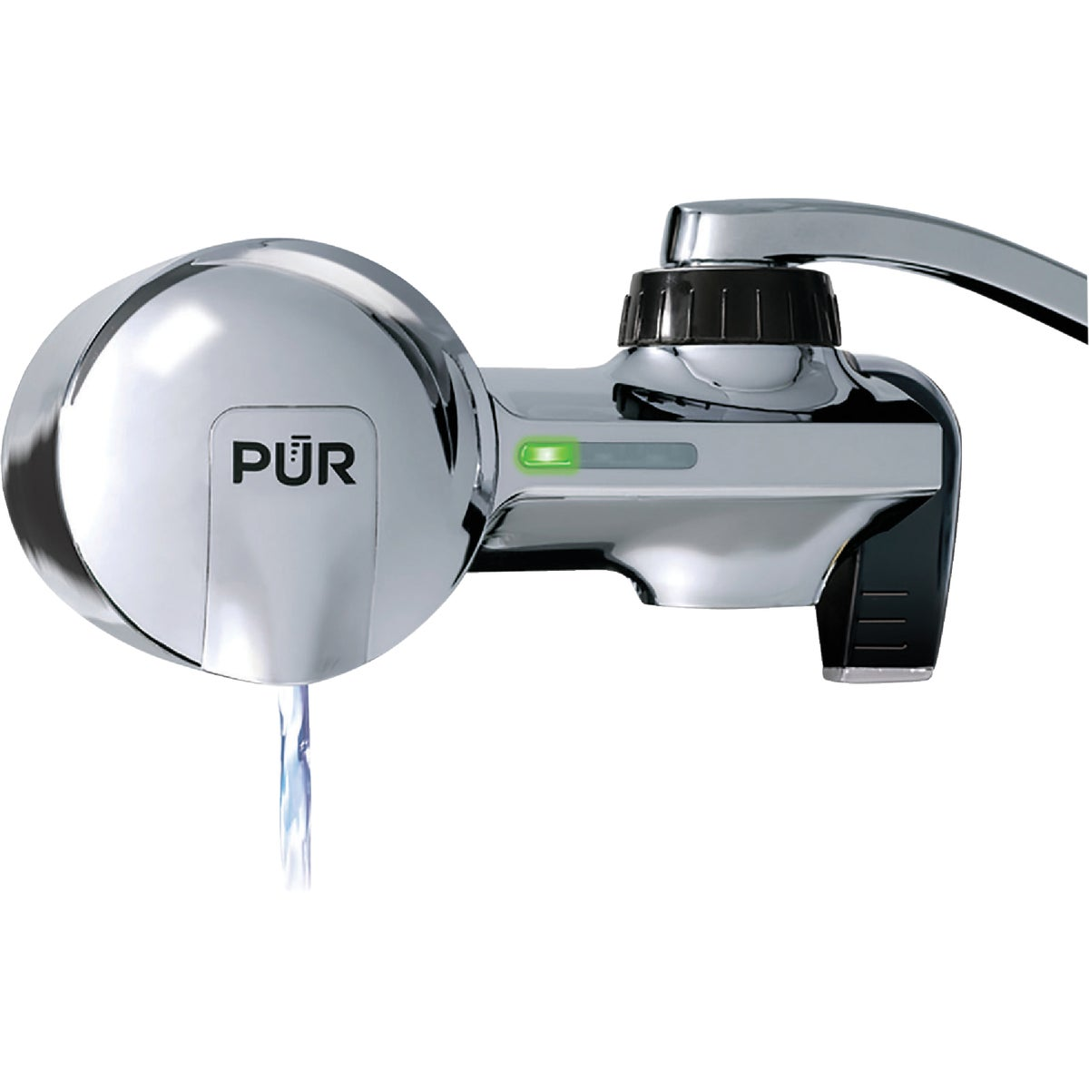 PUR WATER FILTER CHROME