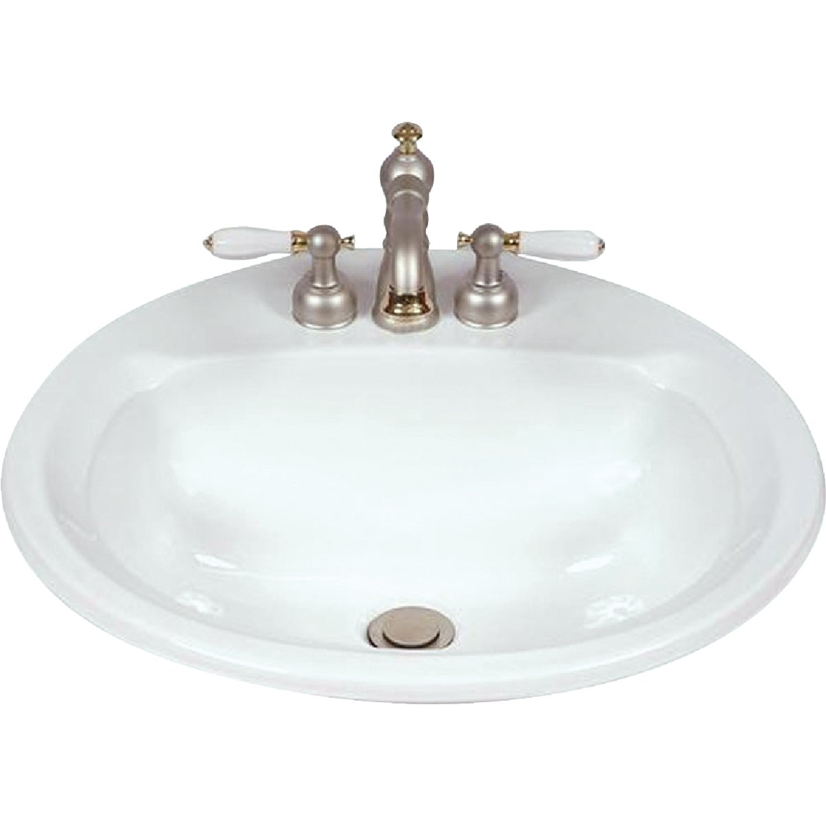 WHT ROUND LAVATORY BOWL - 249410070 by Mansfield Plumbing