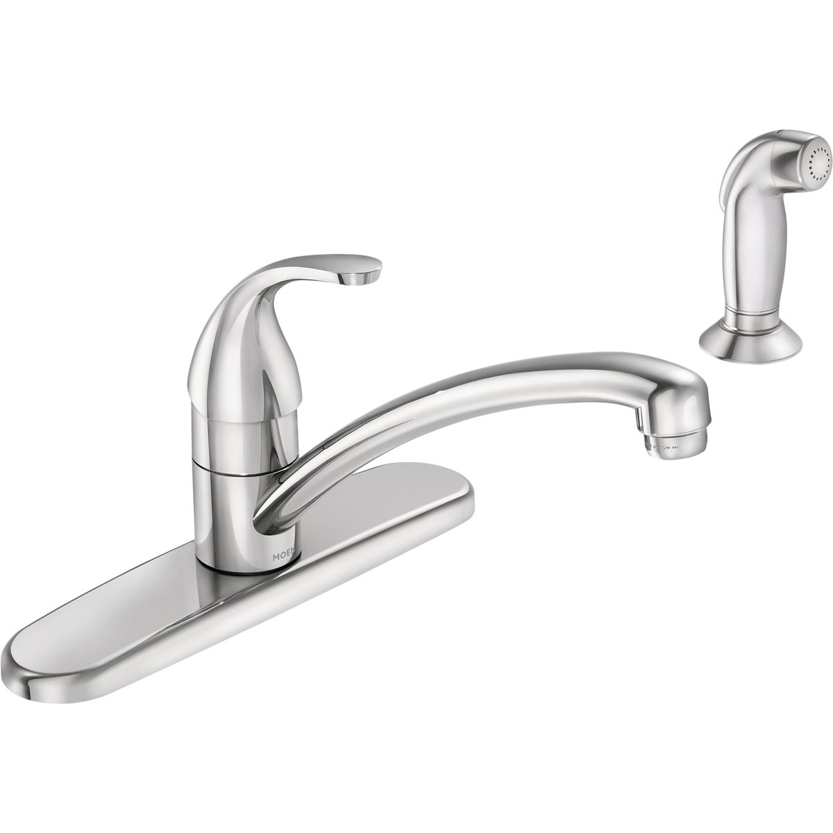 Moen CA87551 Adler Single Handle Faucet with Lever Handle and 9'' Spout, Chrome