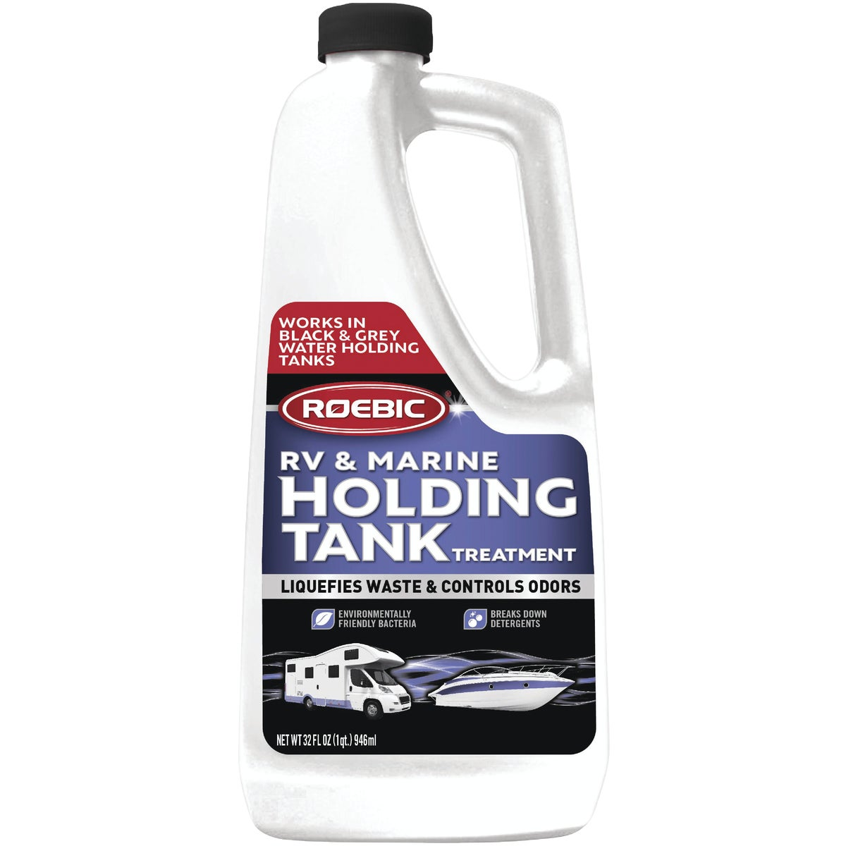 RV HOLDNG TANK TREATMENT - RV-Q-12 by Roebic Laboratories