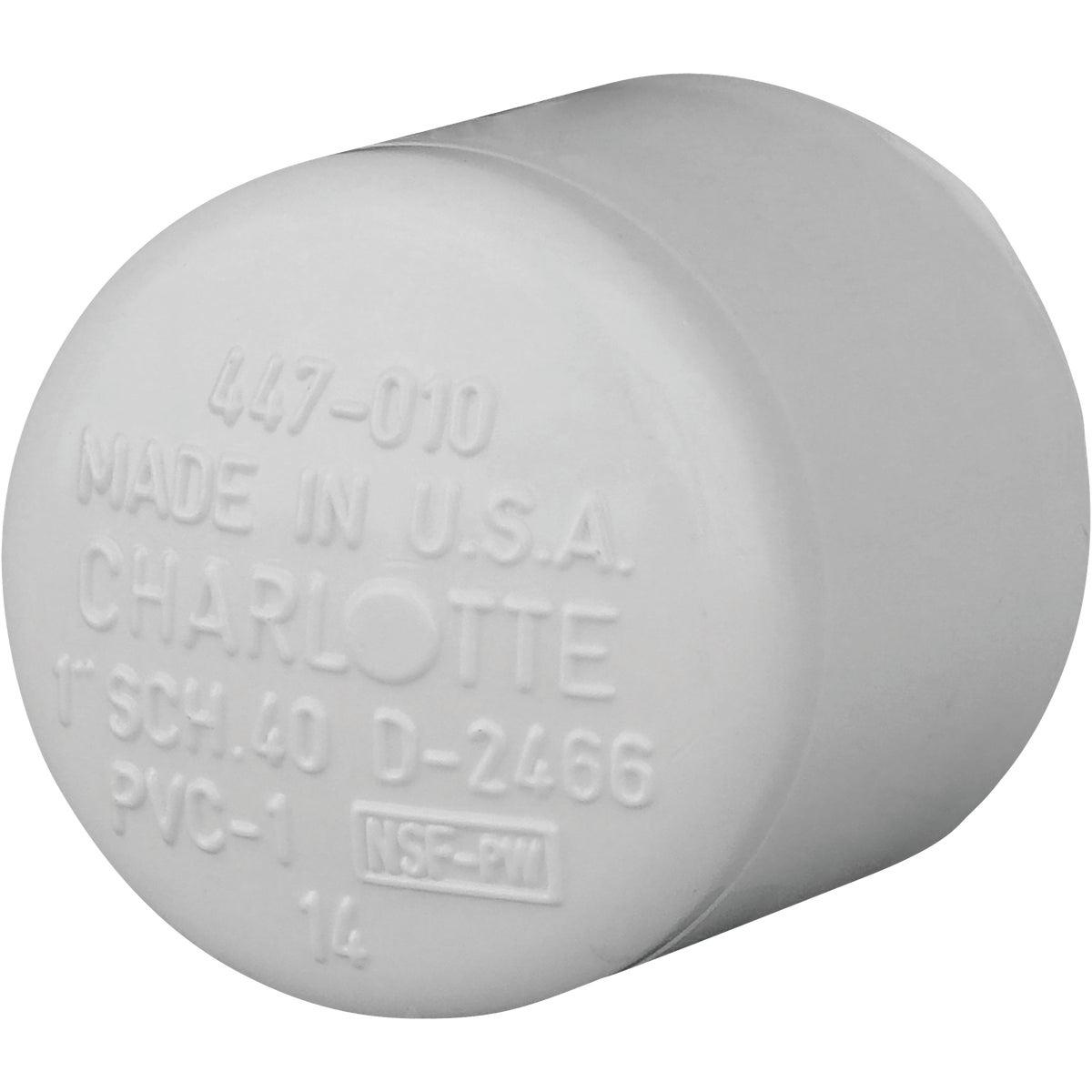 "1"" PVC SCH40 SLIP CAP - 30158 by Genova Inc"