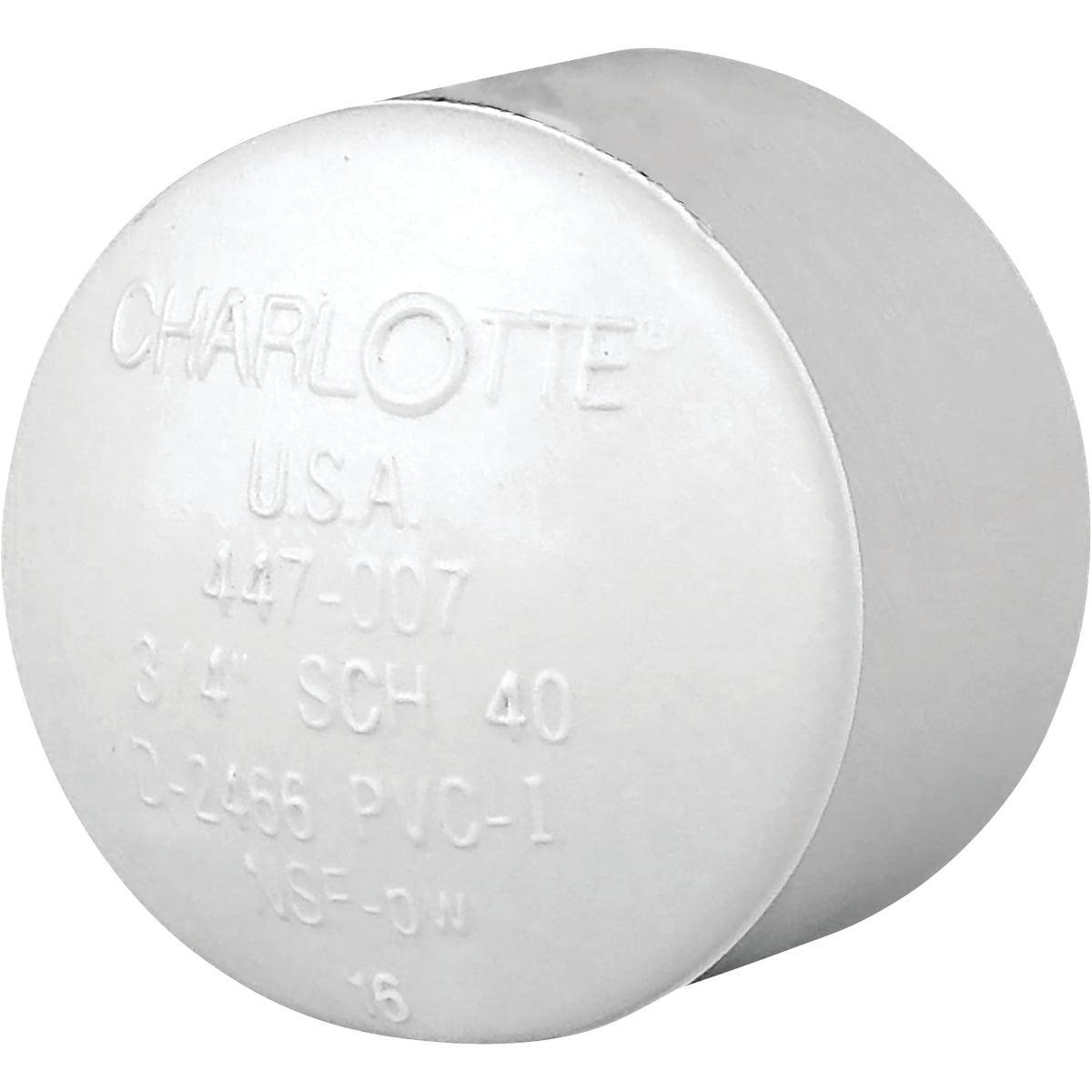 "3/4"" PVC SCH40 SLIP CAP"