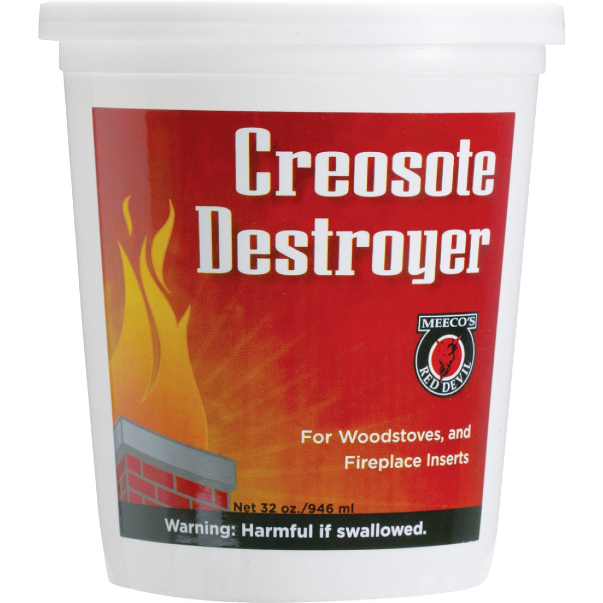 2LB DESTROYER CREOSOTE - 25 by Meeco Mfg