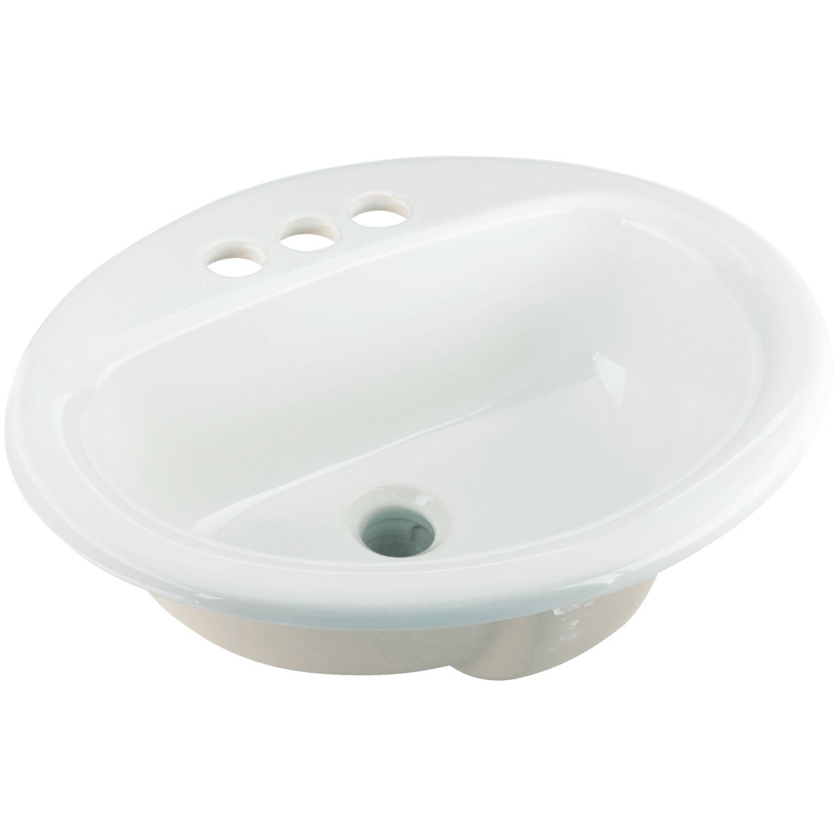 Mansfield Plumbing WHT OVAL LAVATORY BOWL 251410000