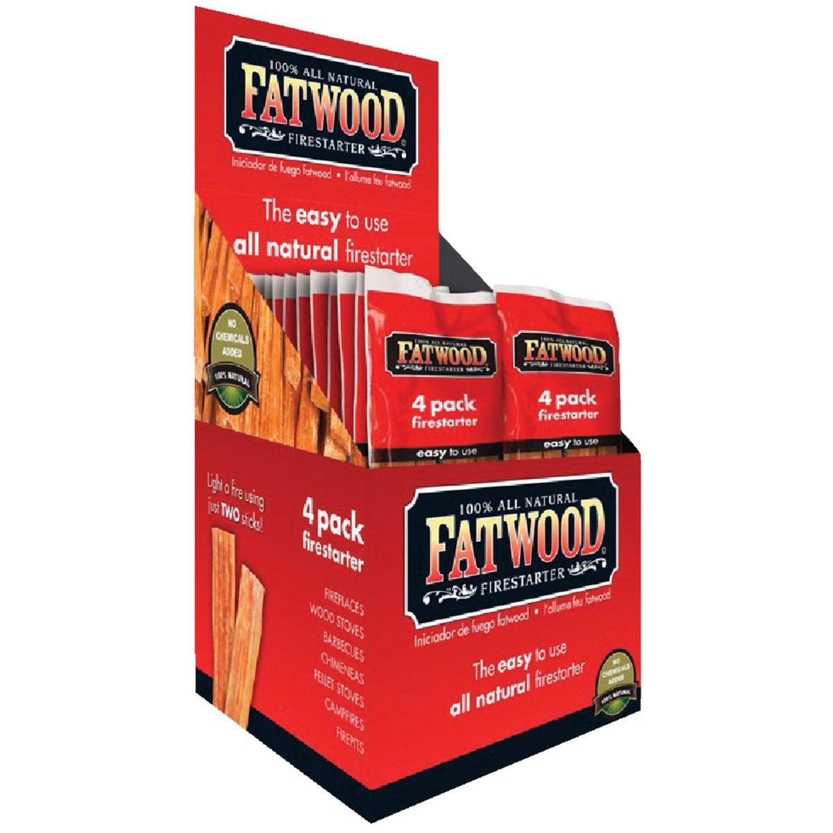 4PC FATWOOD FIRESTARTER
