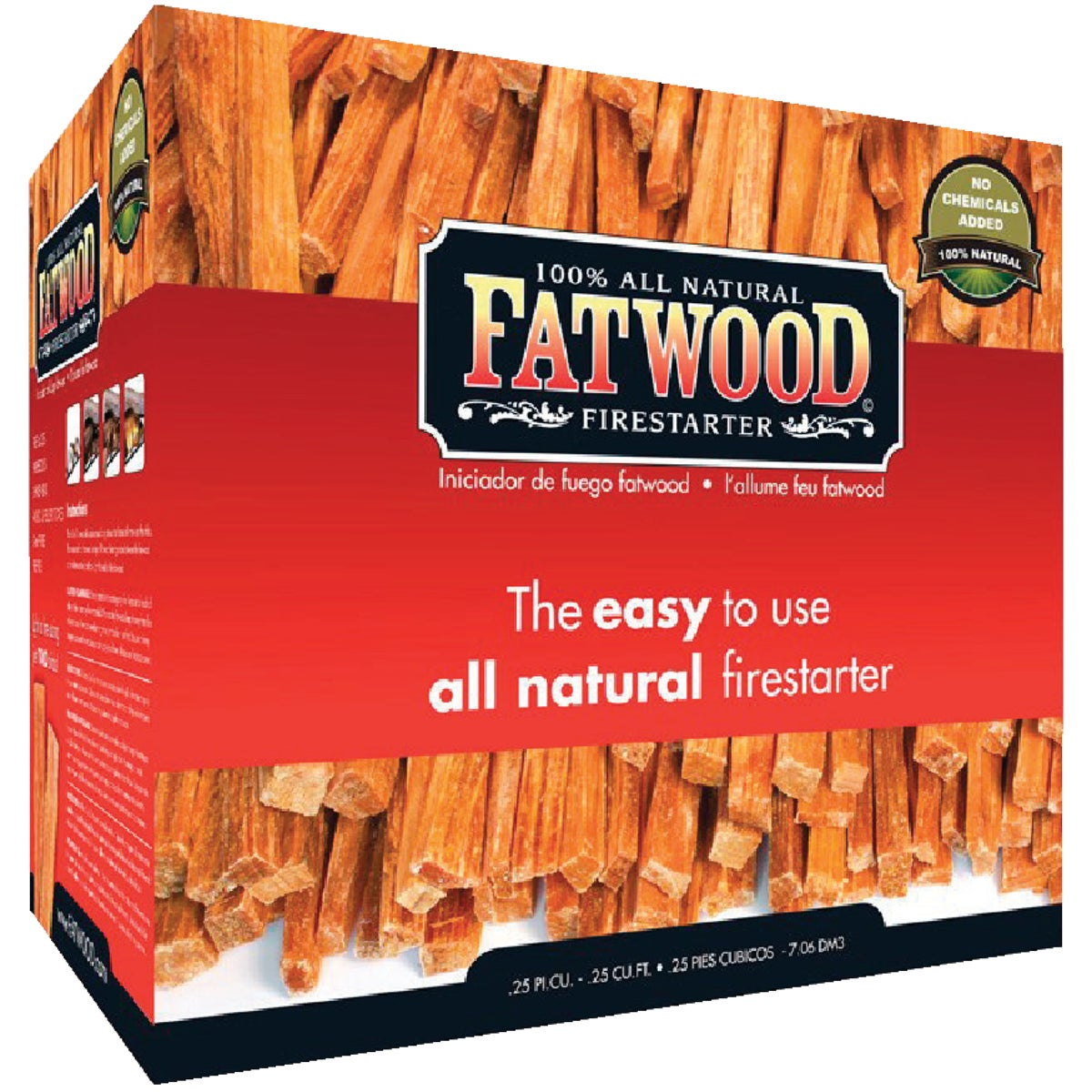10LB FATWOOD FIRESTARTER - 9910 by Wood Products Intl