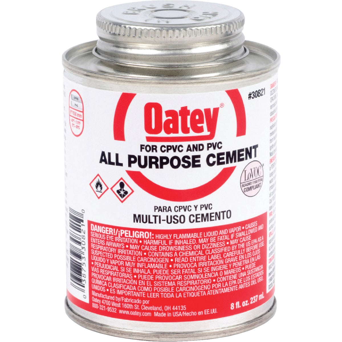 1/2PT ALL-PURPOSE CEMENT - 30821 by Oatey Scs
