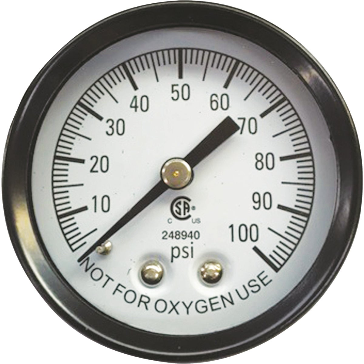 0-100 PRESSURE GAUGE - 66017-WYN by Wayne Water Systems