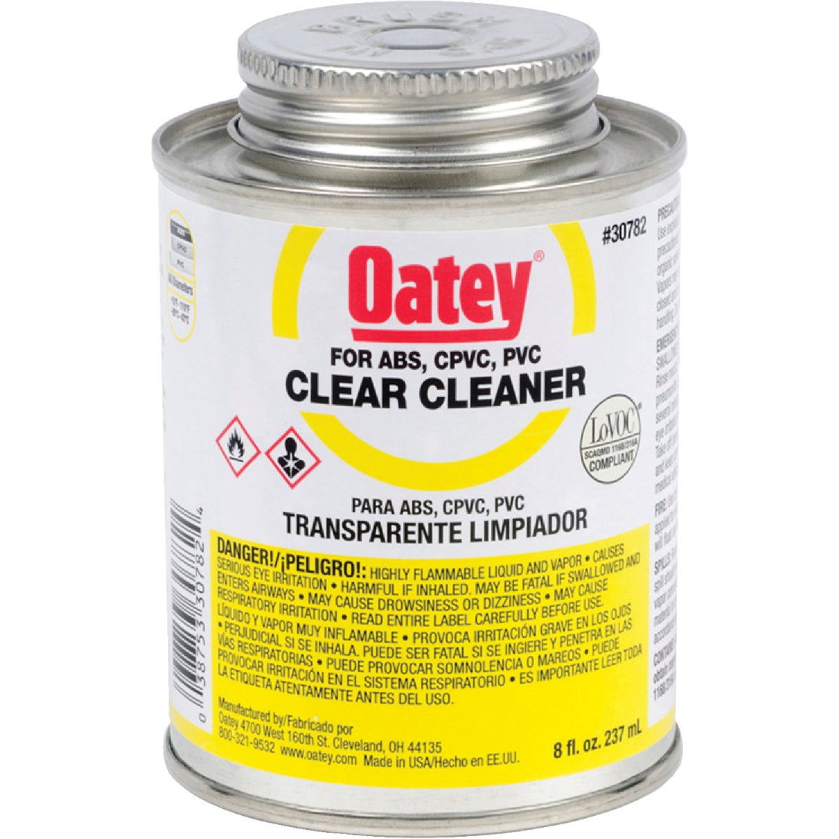 1/2PINT CLEANER - 30782 by Oatey Scs