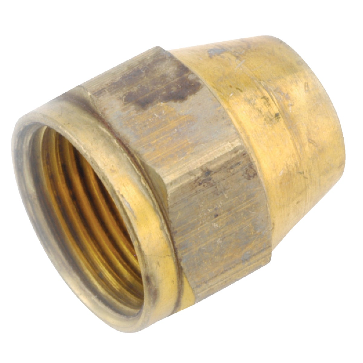 """3/8""""OD FLARE NUT - 54800-06 by Anderson Metals Corp"""