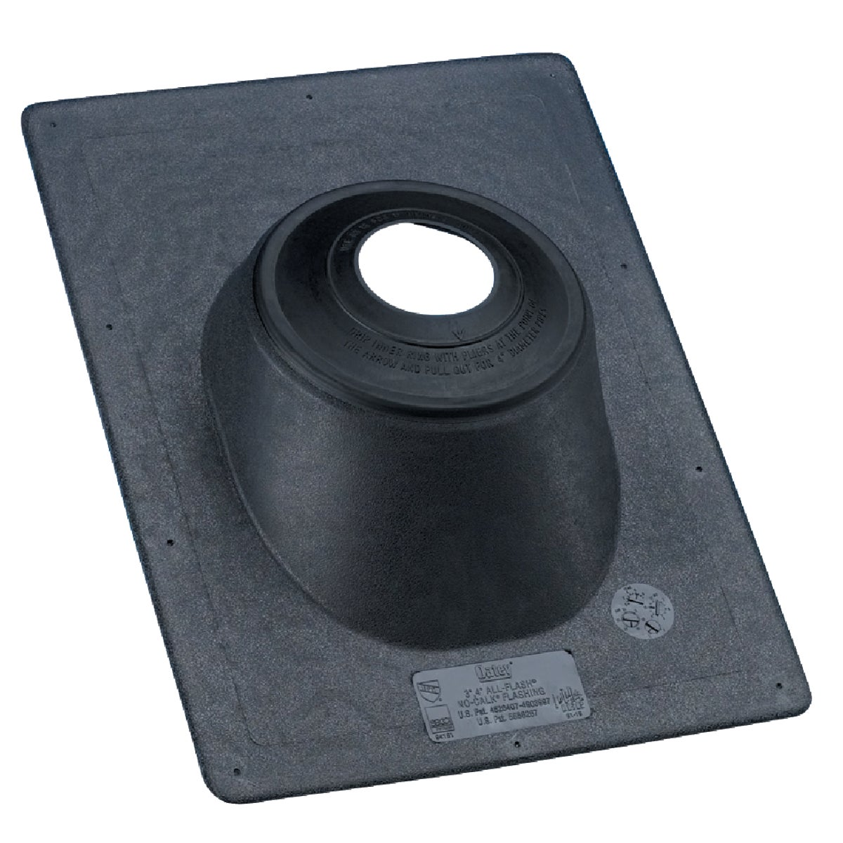 "3"" PLASTIC ROOF FLASHING - 11890 by Oatey Scs"