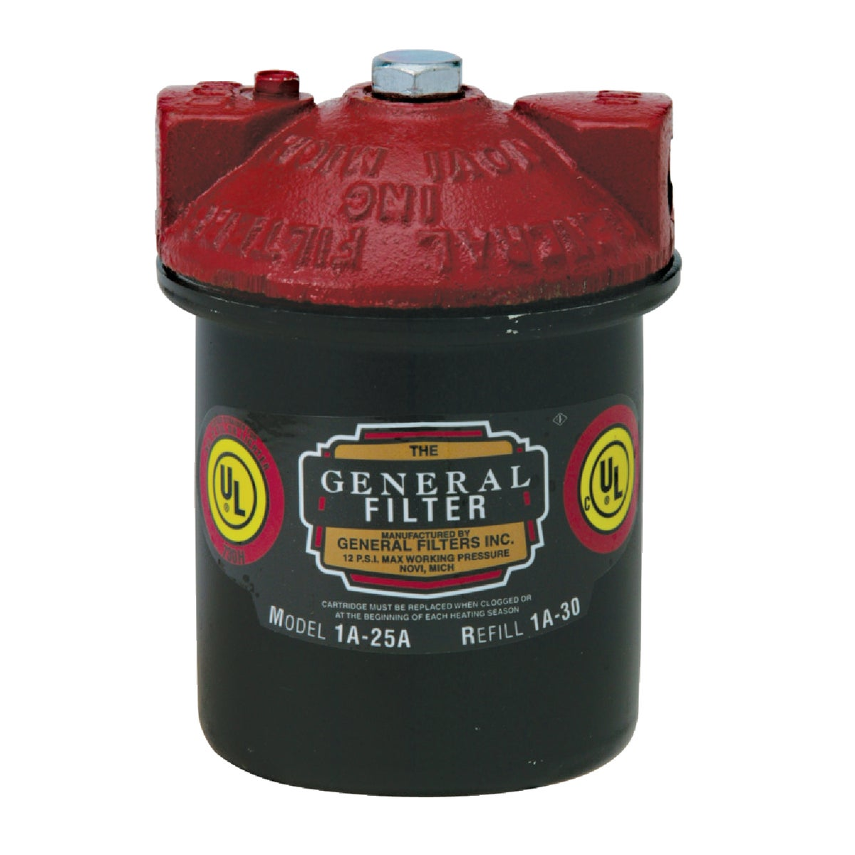 FUEL OIL FILTER - 1A25B by Gen Filters Inc