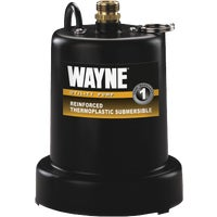 Wayne Home Equipment 1/4HP SUBM UTILITY PUMP 56517-TSC130