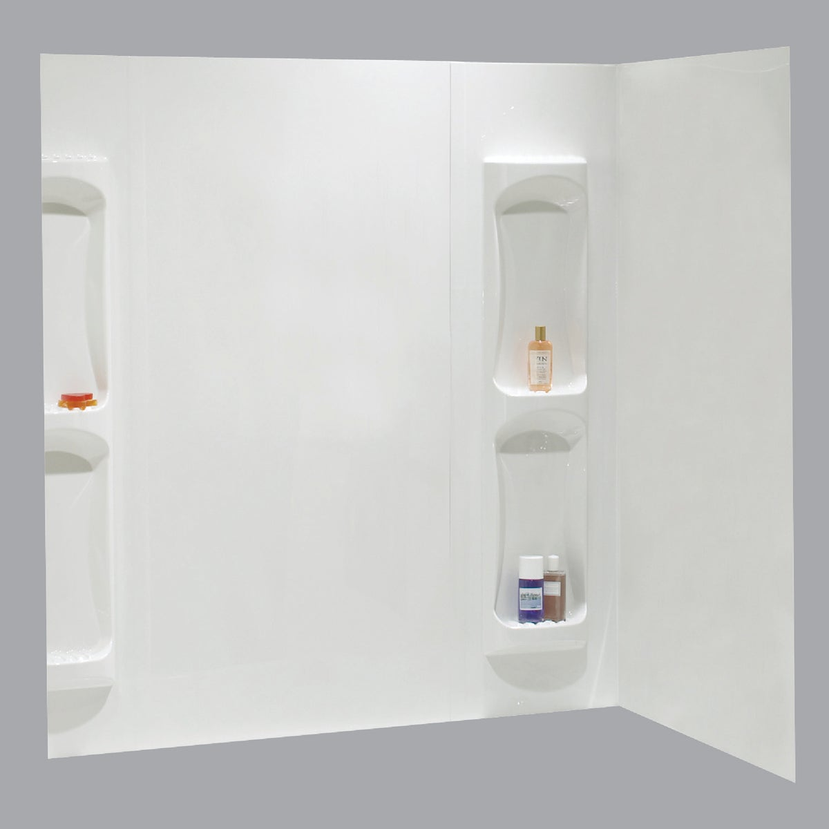 5PC WHITE TUB WALL KIT - 102573-129 by Maax Bath