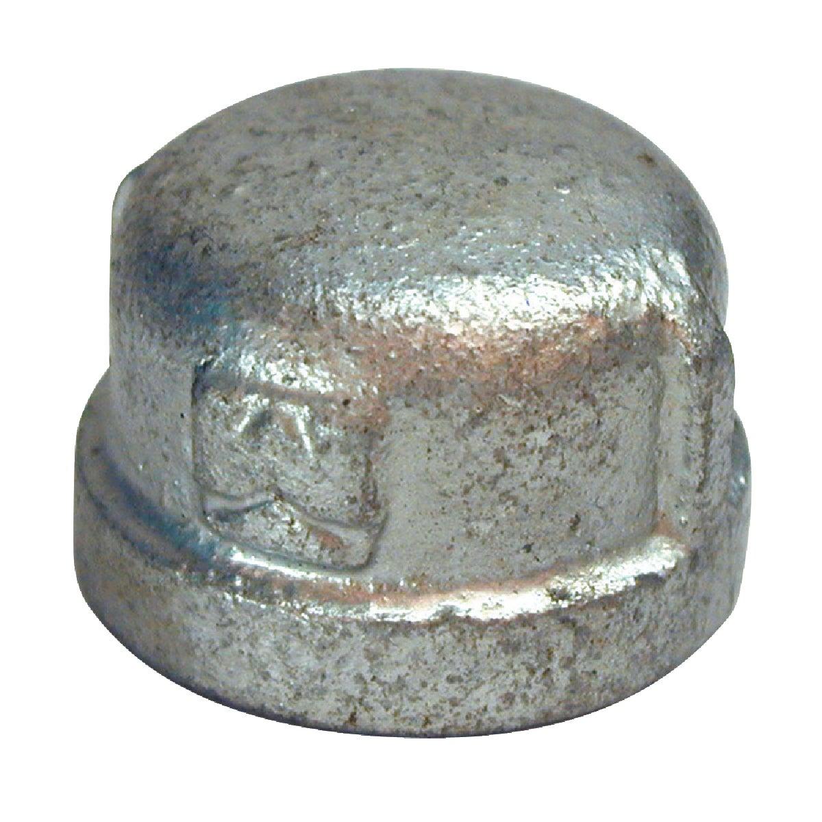 """1/8"""" GALVANIZED CAP"""