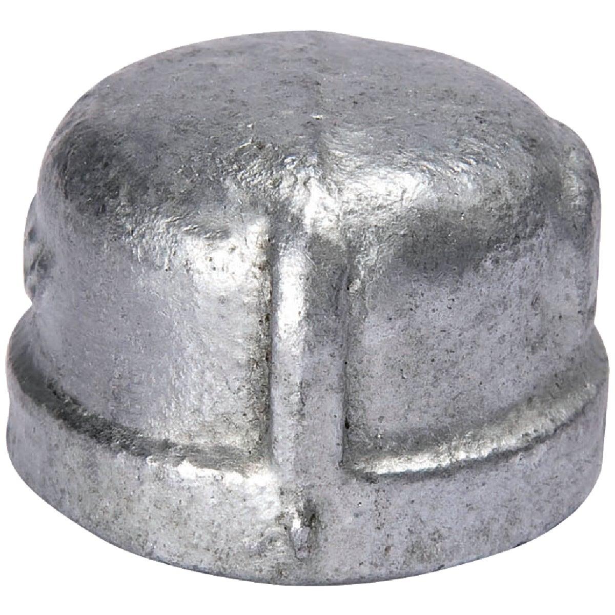 """3/8"""" GALV CAP"""