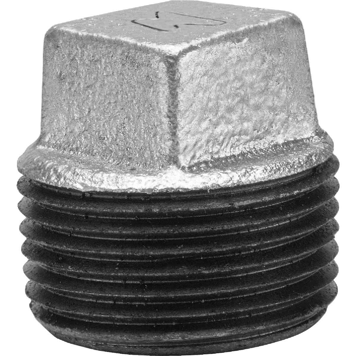 "3/8"" GALV SQ PLUG - 8700159802 by Anvil International"