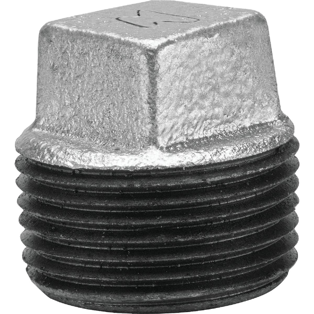 "2"" GALV SQ PLUG - 8700160107 by Anvil International"