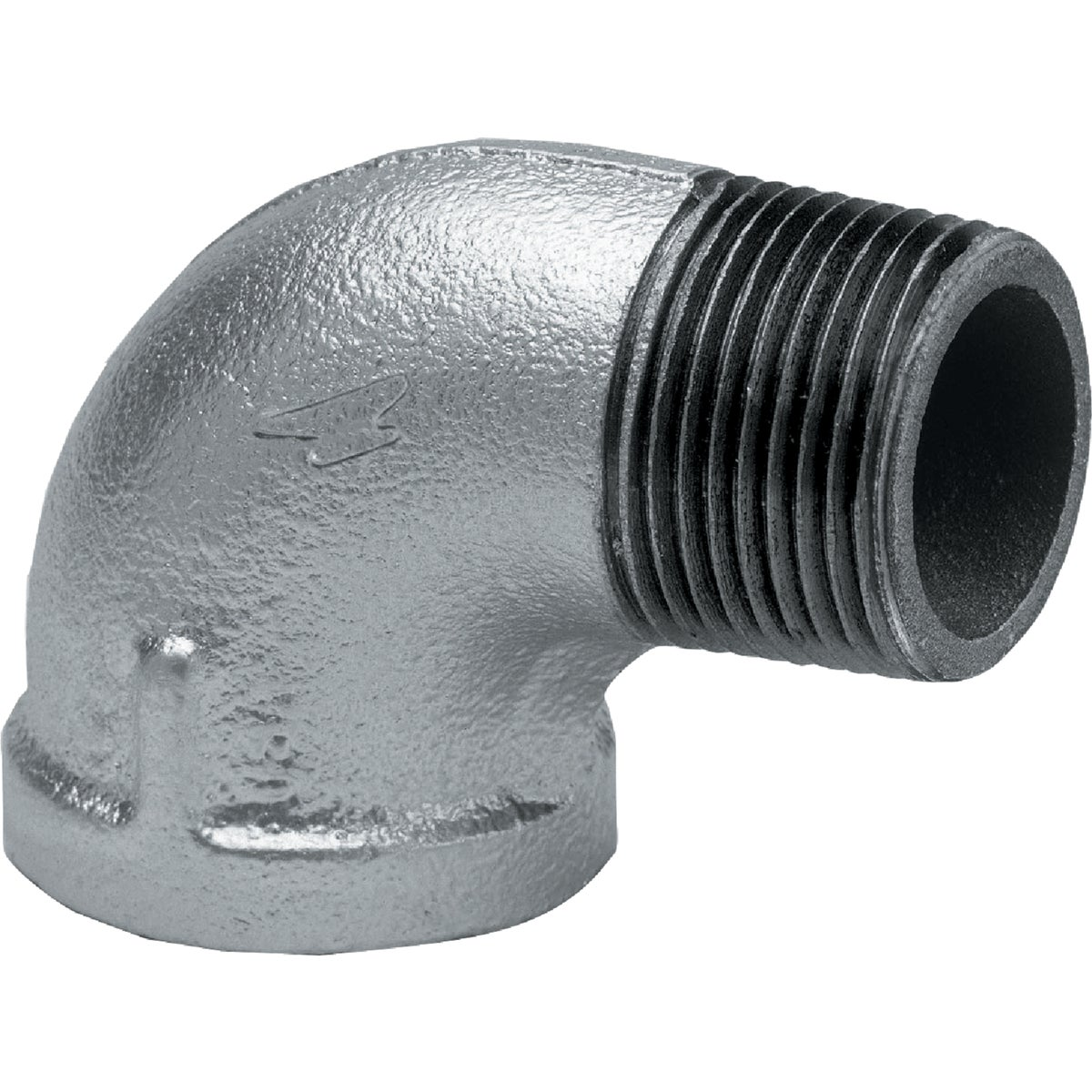 "3/8"" 90D GALV ST ELBOW"