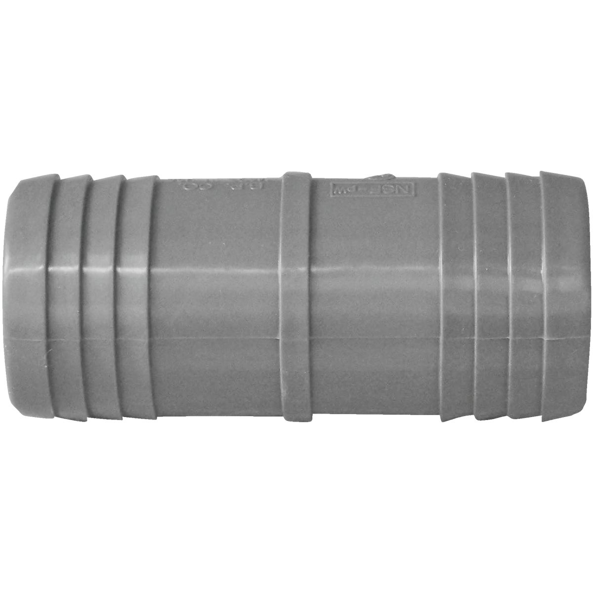 """1-1/4"""" POLY INS COUPLING"""