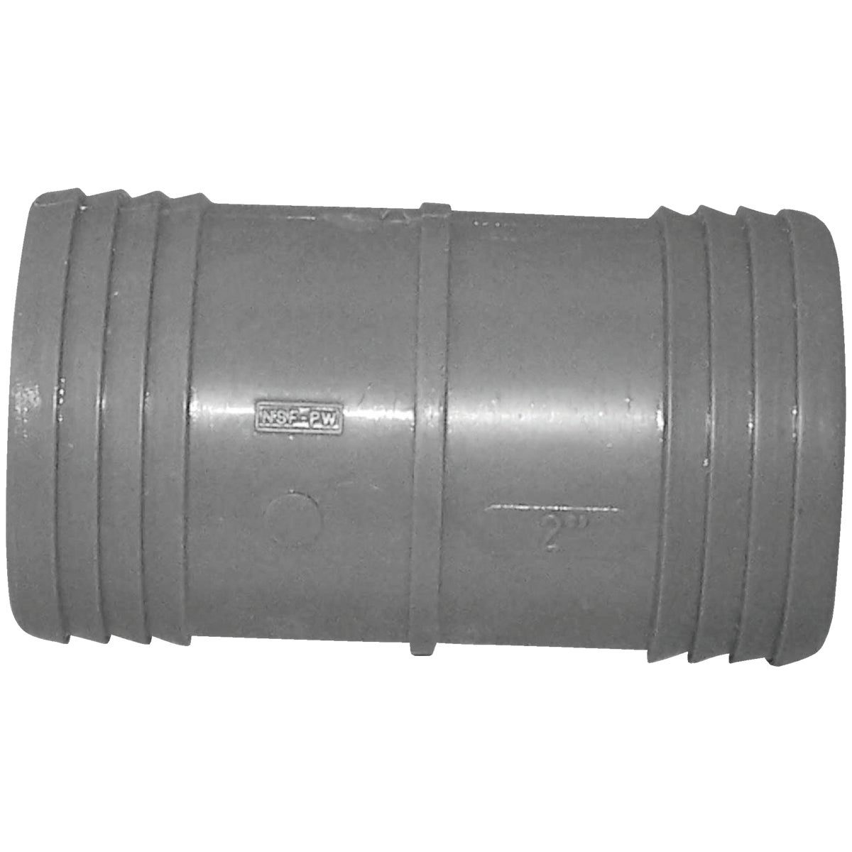 "2"" POLY INSERT COUPLING"