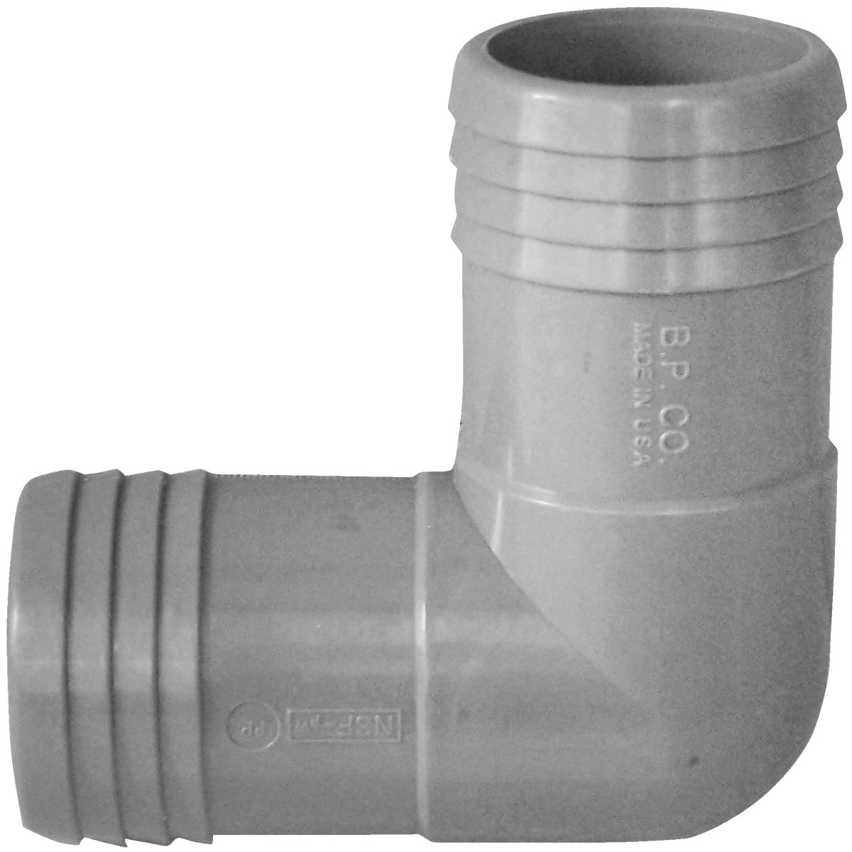 "1-1/2"" POLY INSERT ELBOW"
