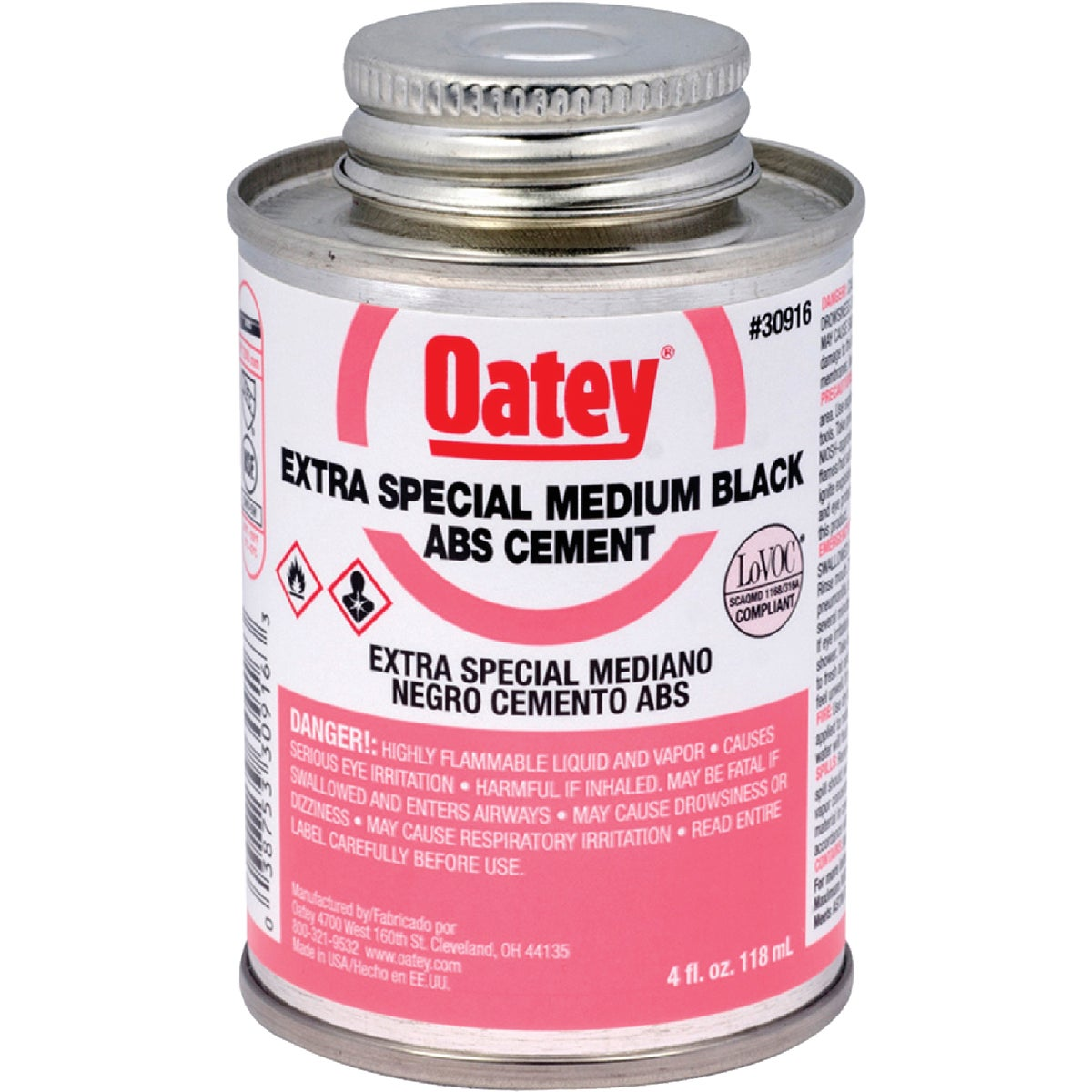 1/4PINT ABS CEMENT - 30916 by Oatey Scs