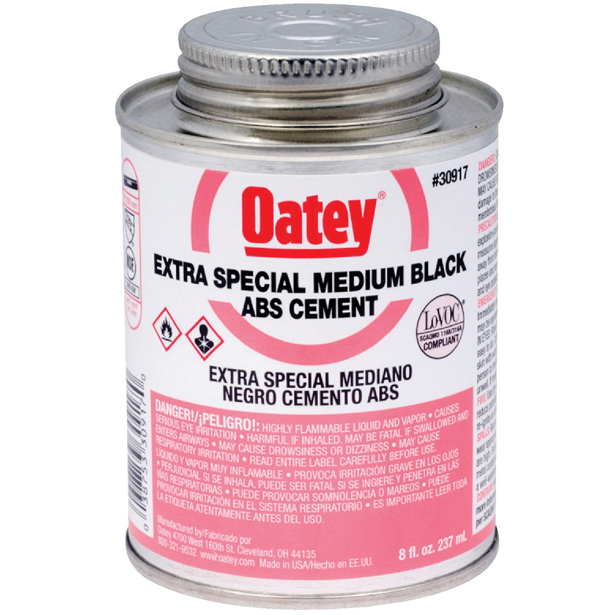 Oatey 1/2PINT ABS CEMENT 30917