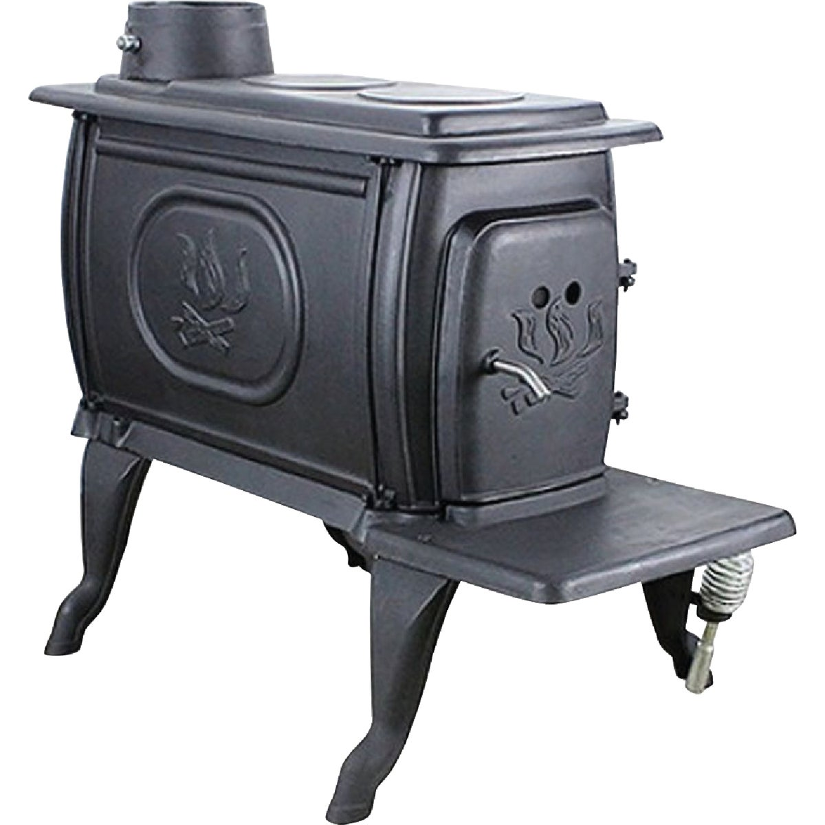 CAST IRON BOXWOOD STOVE - 1261 by U S Stove Company