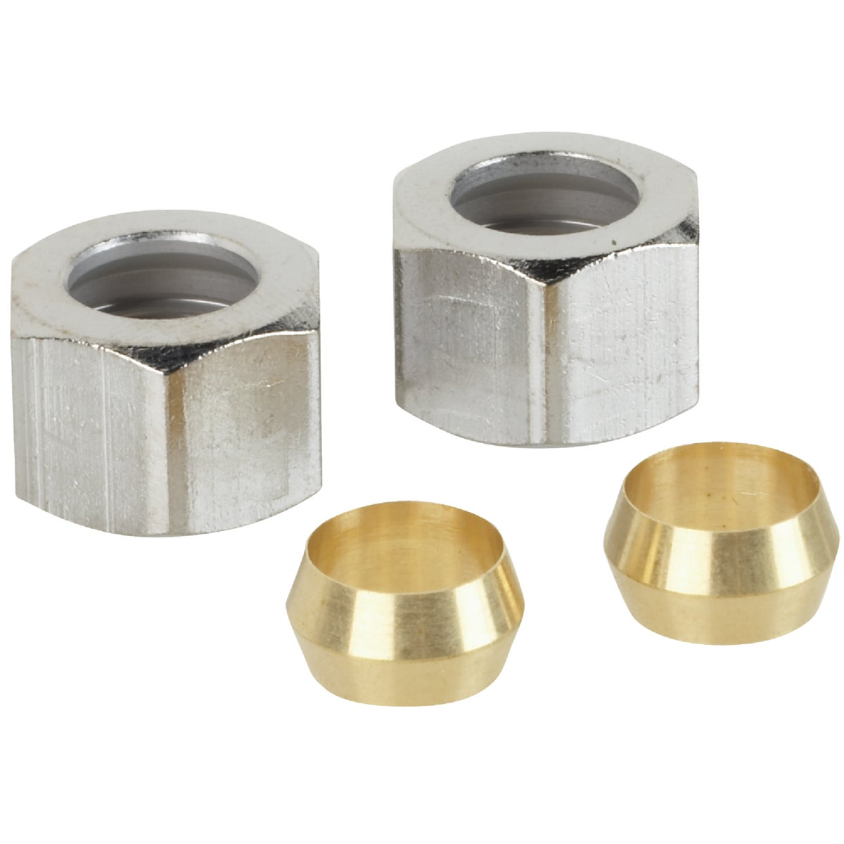 """3/8"""" COMP NUT & RING - 425640 by Do it Best"""