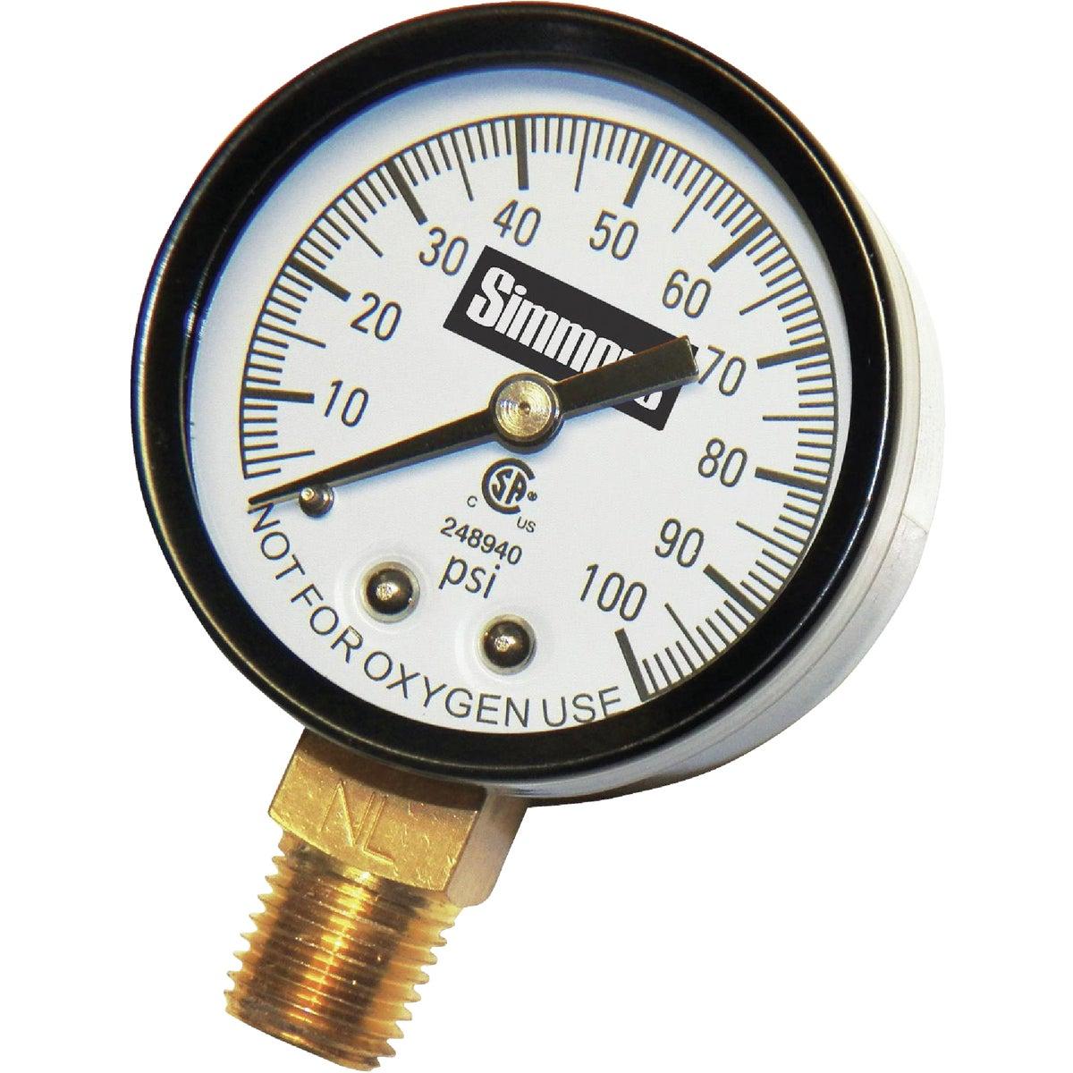 Wayne Home Equipment 0-100 PRESSURE GAUGE 66015-WYN