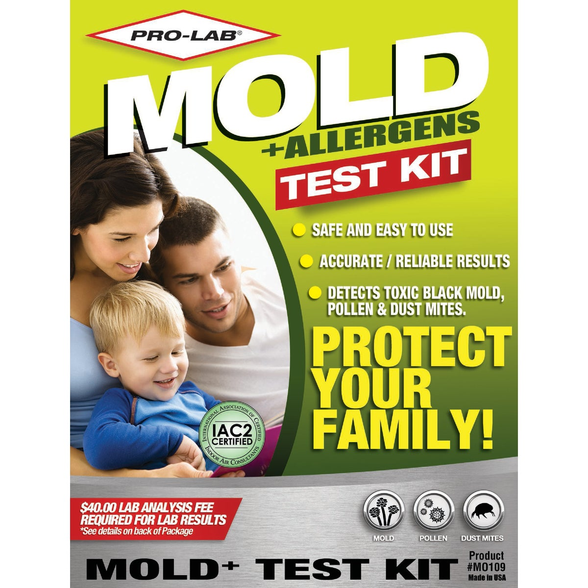 MOLD TEST KIT - MO109 by Pro Lab Inc
