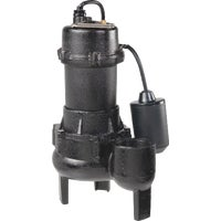 1/2 HP Cast-Iron With Tether Switch Sewage Pump, RPP50