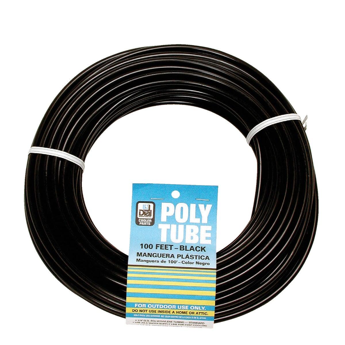 "1/4""X1000' BLK POLY TUBE"
