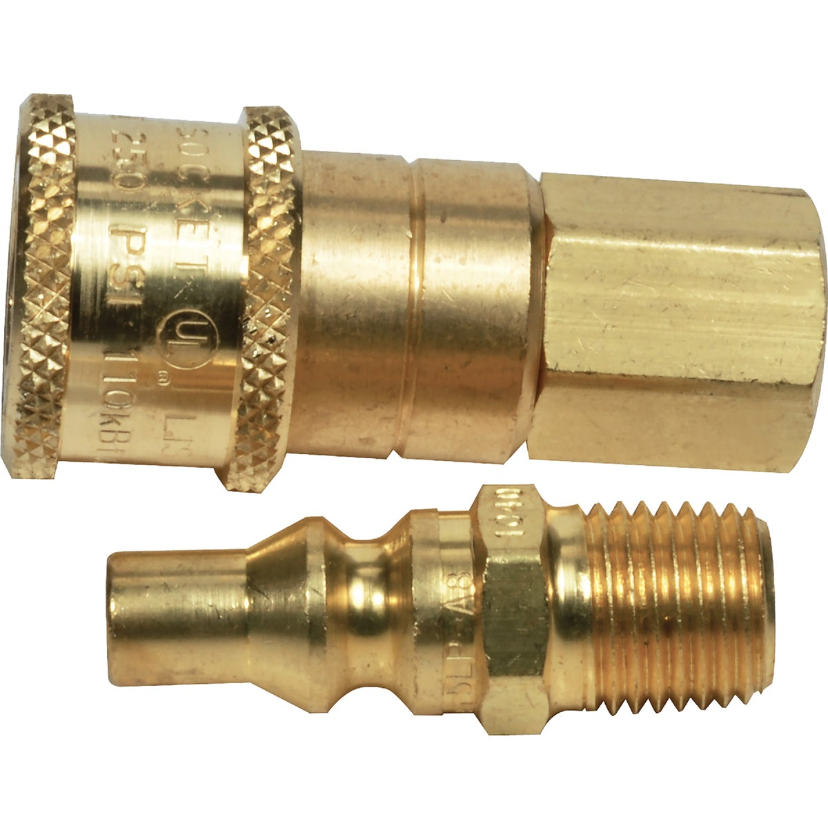 QUICK GAS CONNECTOR