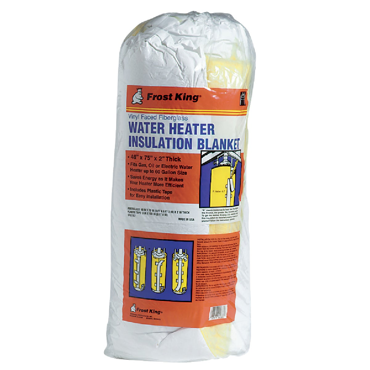 Thermwell Prods. Co. WATER HEATER JACKET SP57/67