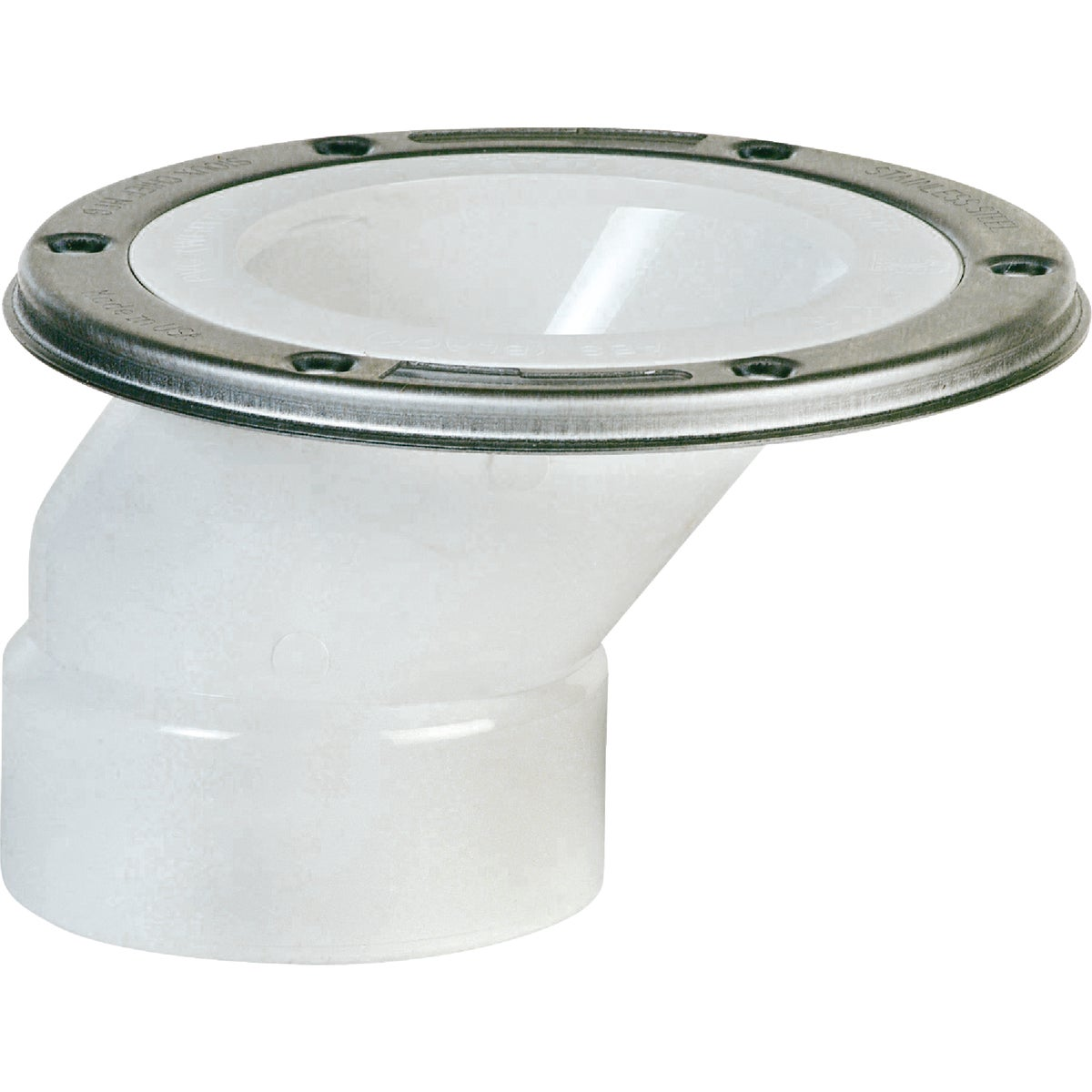 4X3 SS PVC OFFSET FLANGE - 889-POM by Sioux Chief Mfg