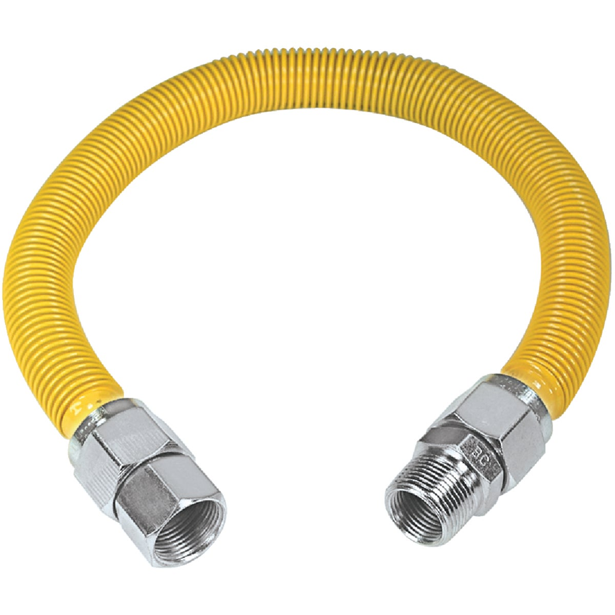 ProCoat Coated Stainless Steel Gas Connector, CSSB21-36