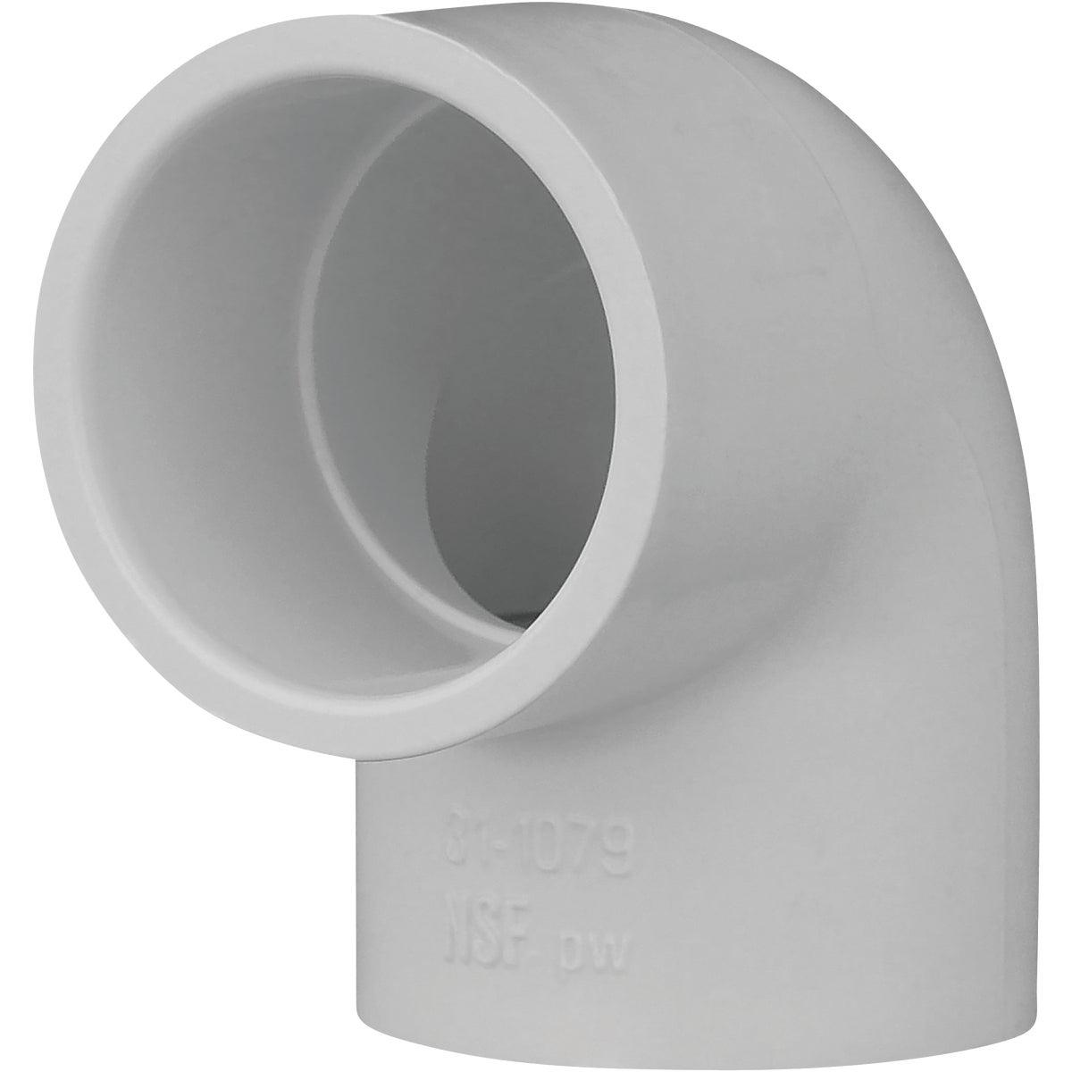 """1"""" 90D SCH40 PVC ELBOW"""