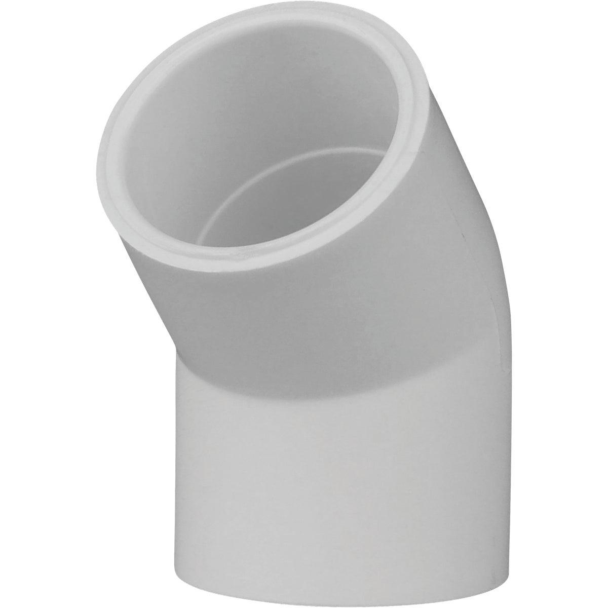 """3/4"""" 45D SCH40 PVC ELBOW"""