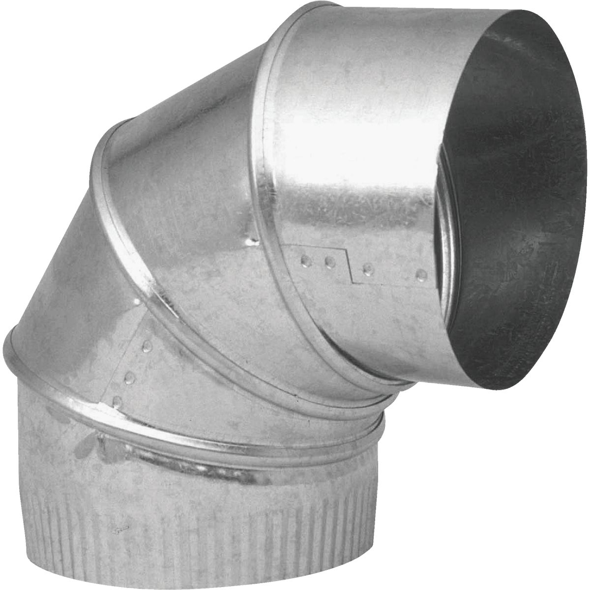 "4"" 28GA GALV ADJ ELBOW - GV0285-C by Imperial Mfg Group"