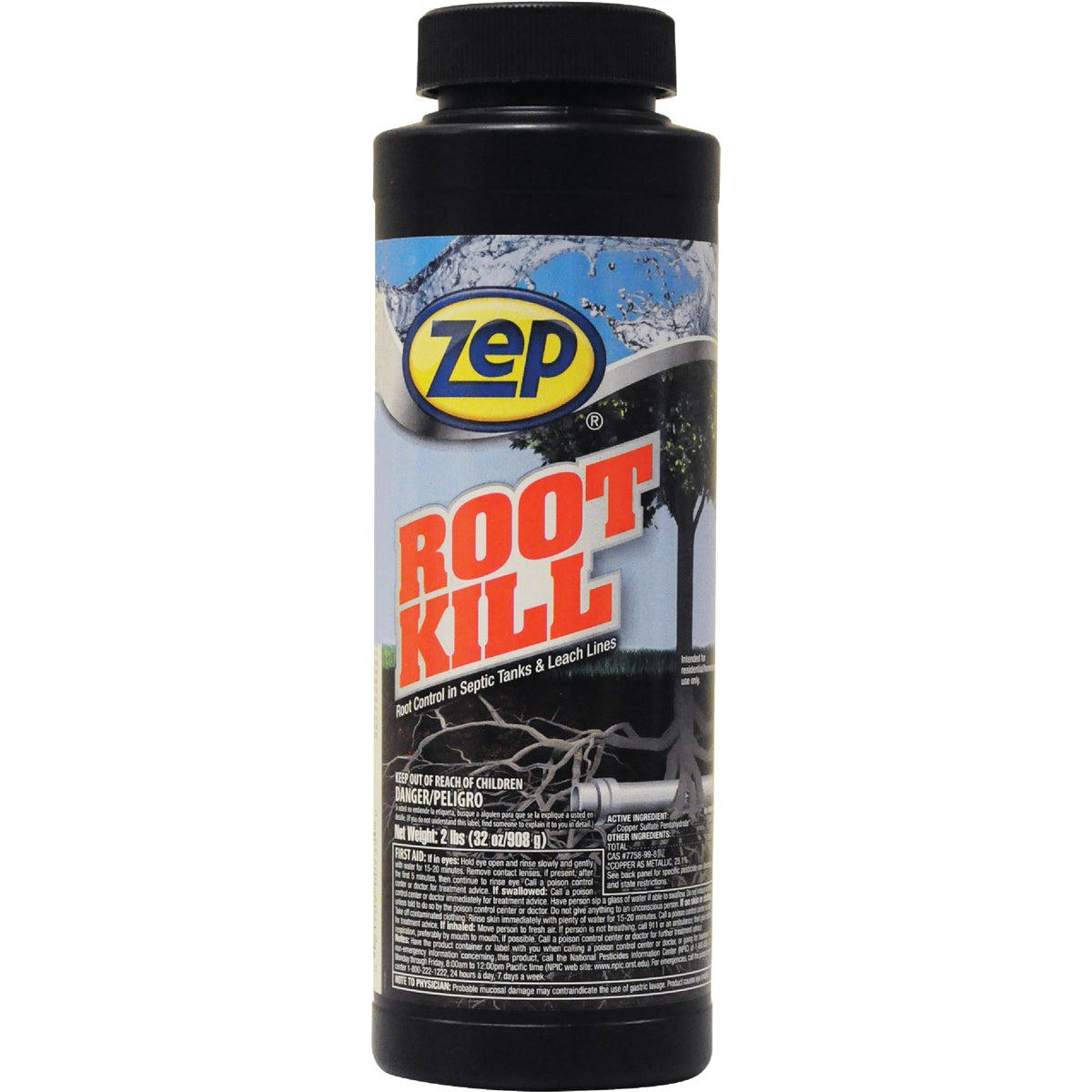 2LB POWDER ROOT KILL - ZROOT24 by Zep Enforcer Inc