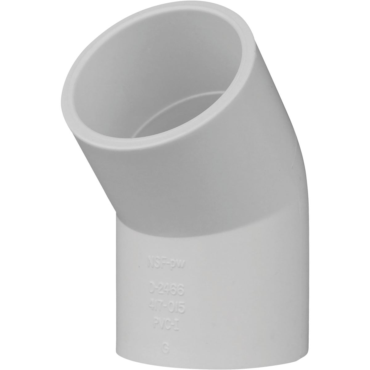 "1-1/2"" PVC SXS 45D ELBOW - 30615 by Genova Inc"