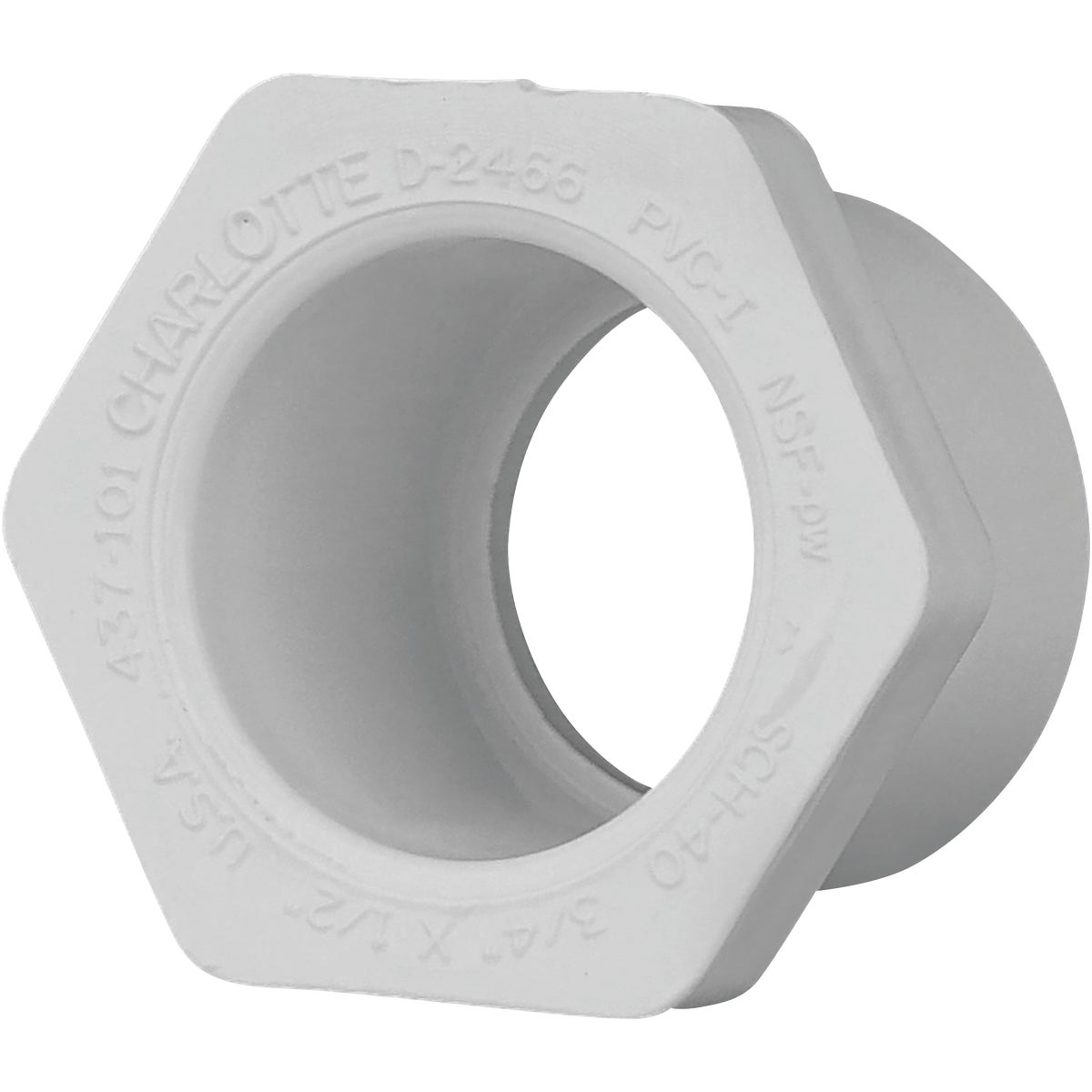 3/4X1/2 PVC SPXS BUSHING - 30275 by Genova Inc