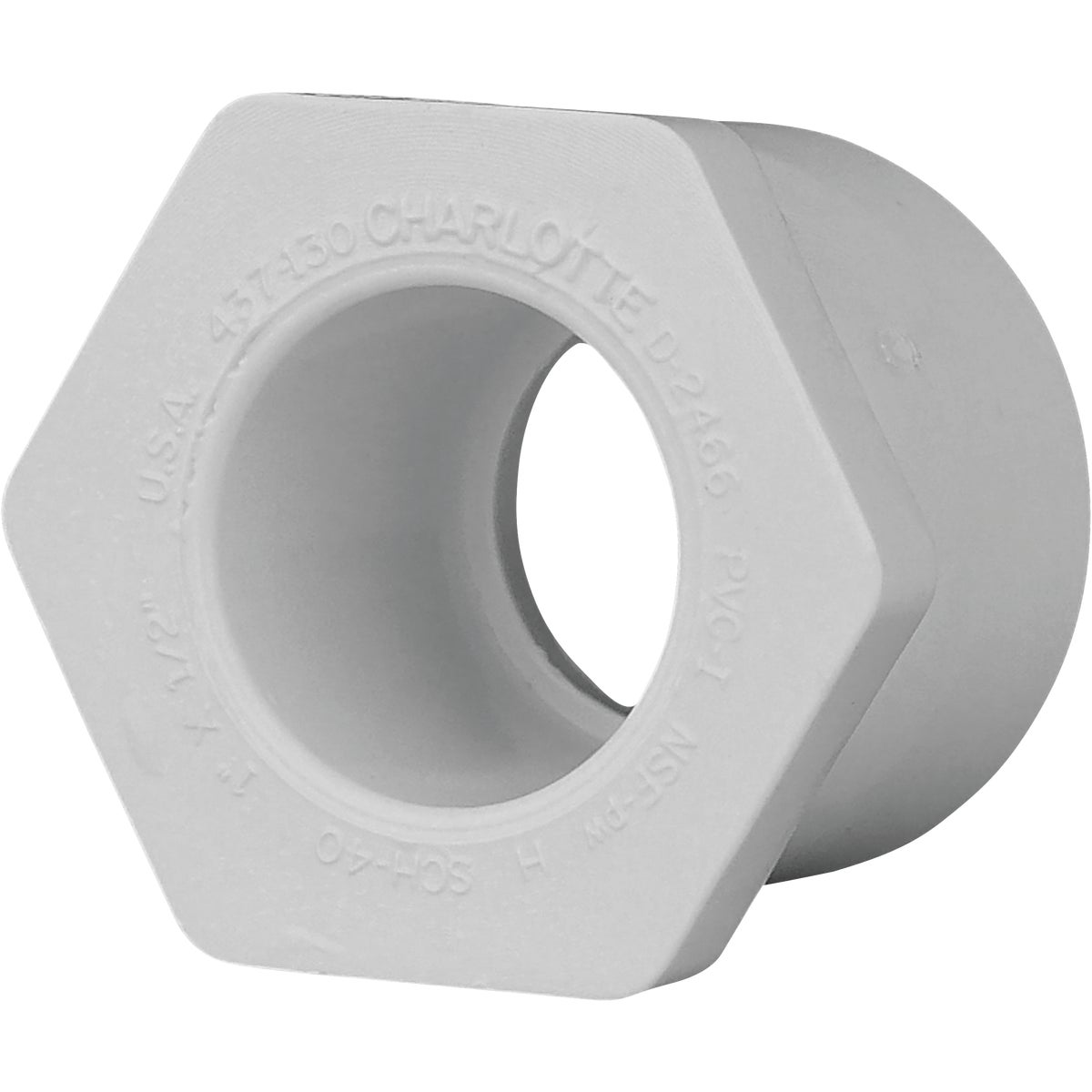 1X1/2 PVC SPXS BUSHING - 30215 by Genova Inc