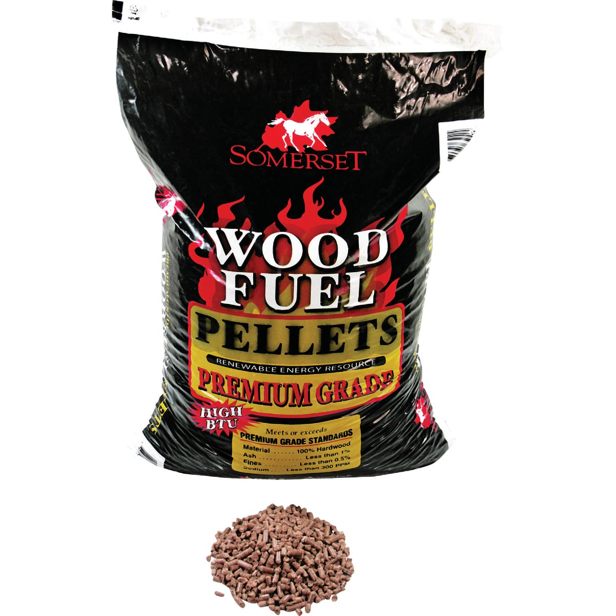 40LB BAG WOOD PELLET - P90001 by Somerset